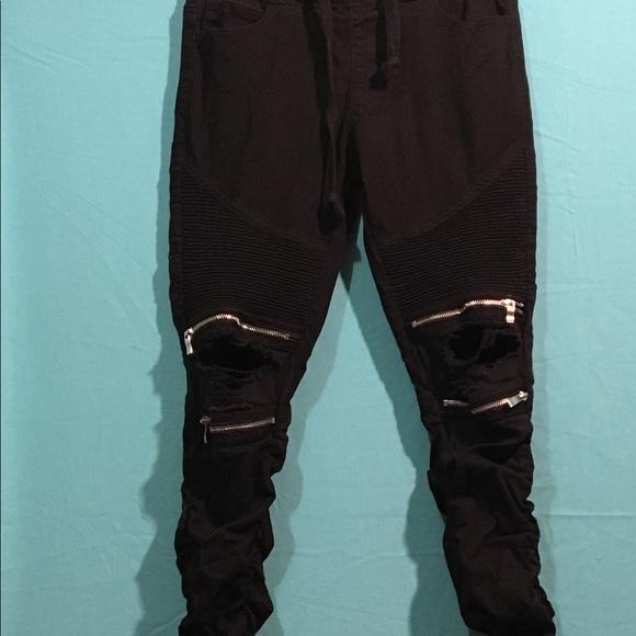 American Bazi Denim - American Bazi Moto Jeans